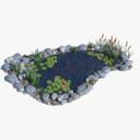 pond 3D models