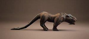 3d model puma