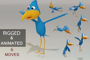 max rigged cartoon bird games