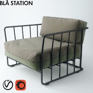 3d model code 27 b chair