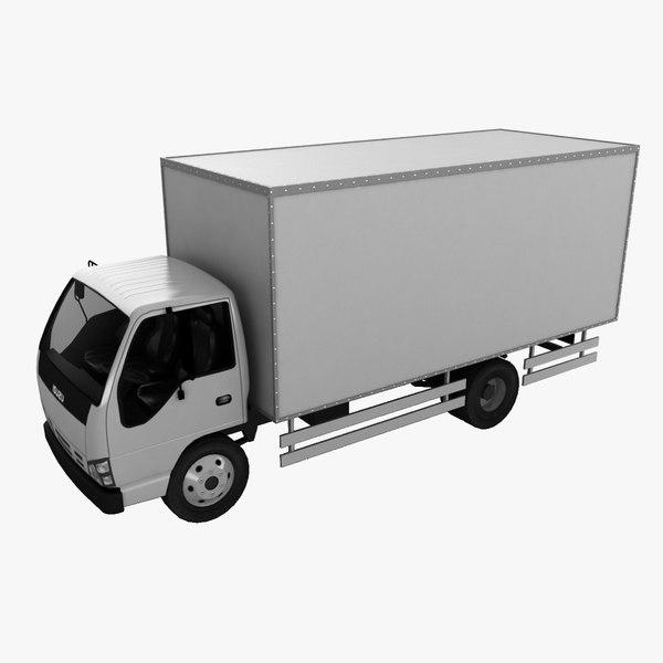 3d isuzu truck model