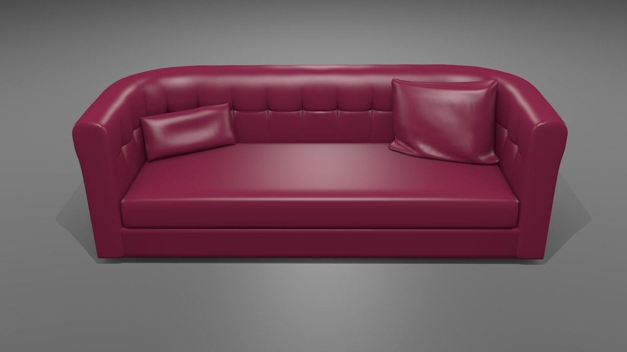 3d model sofa 2