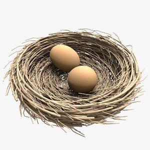 3d model nest egg 2