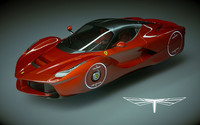 ferrari laferrari la 3d model