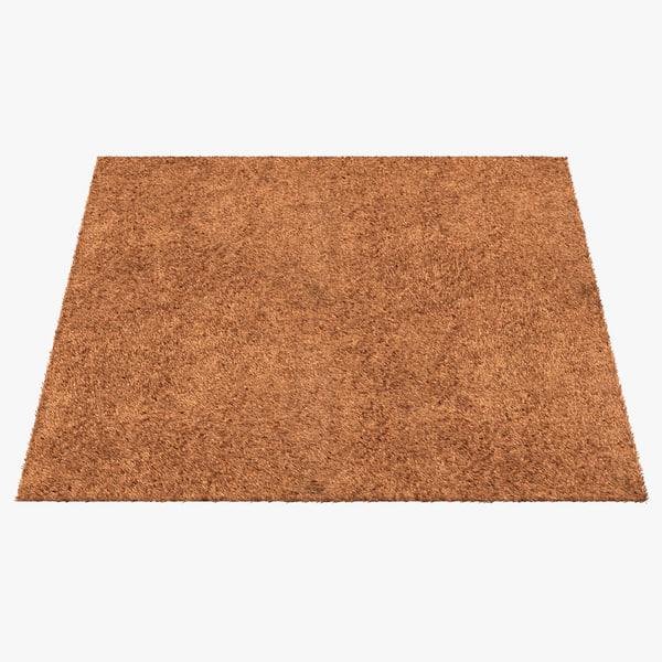 3d carpet beige