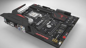 3d motherboard asus maximus hero