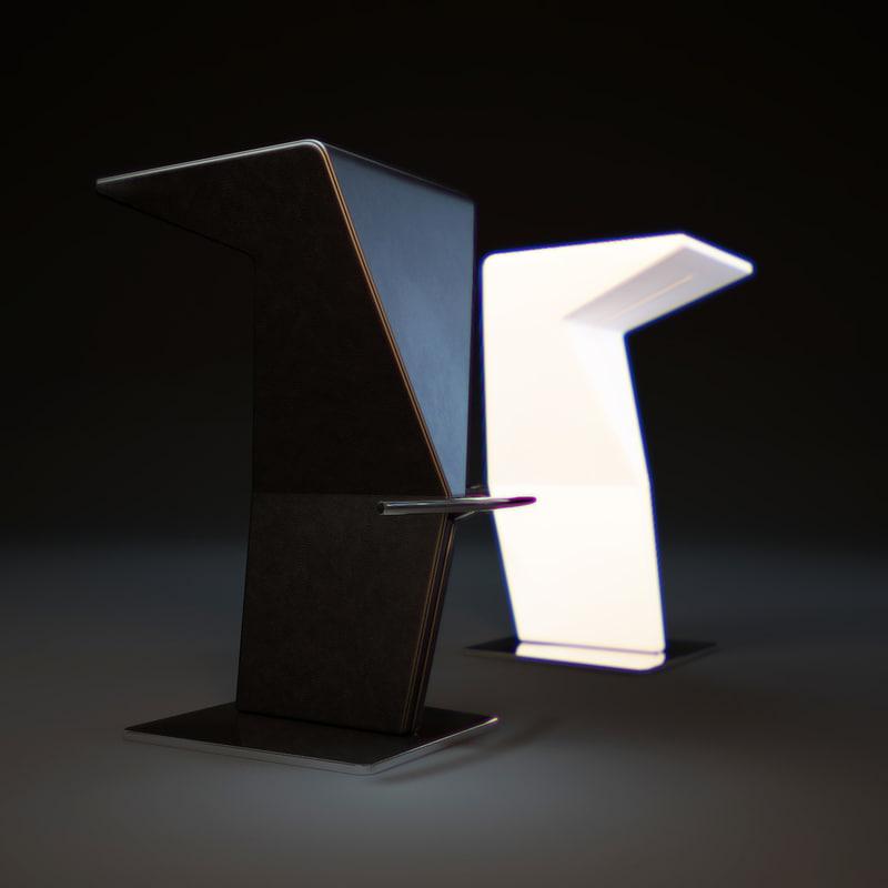 3d model casper-bar-stools