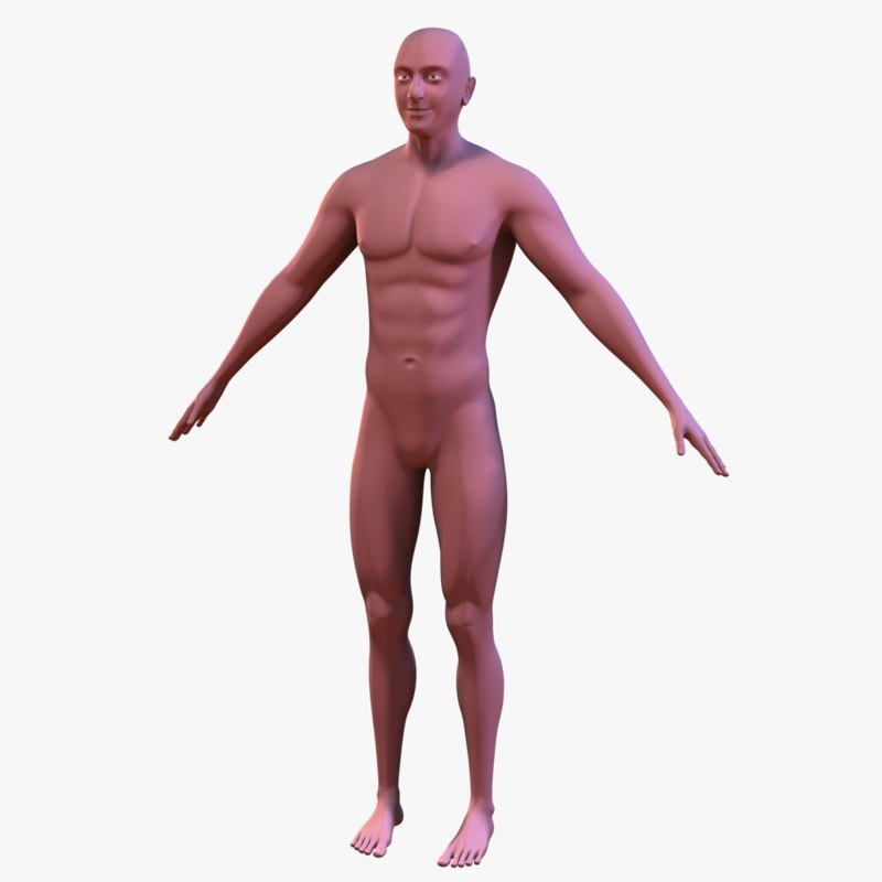 ma realistic male body