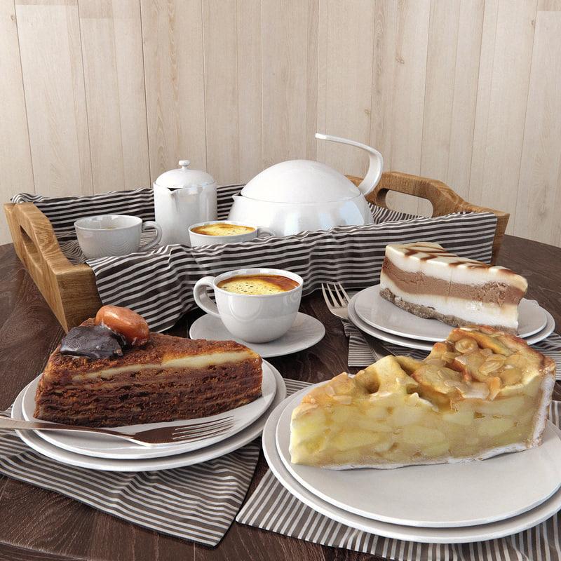 3d cake set