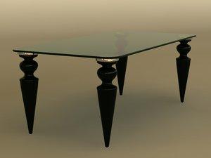 3d table gran canal 72 model