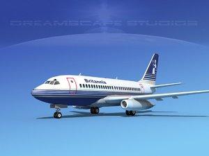 boeing 737 737-100 3ds