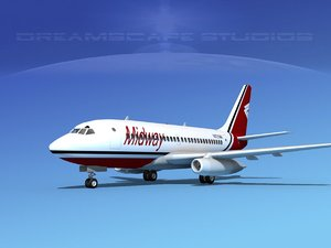 3d boeing 737 737-100