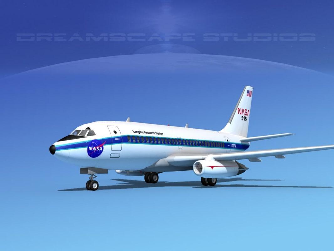 boeing 737 737-100 nasa 3ds