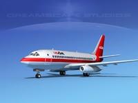 3d boeing 737 737-100 model