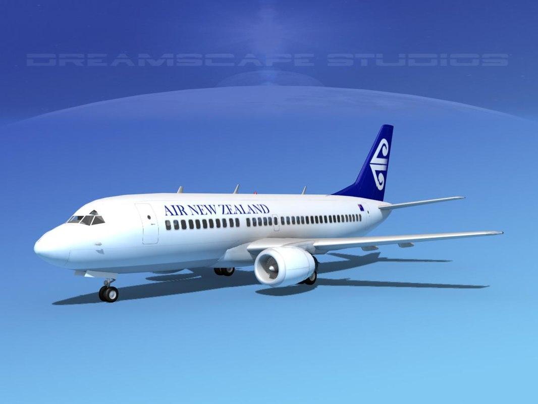 boeing 737 737-300 new 3d model
