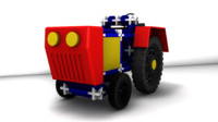free 3ds mode toy tractor