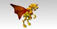 dragon fantasy character