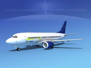 3d max boeing 737 737-300