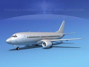 boeing 737 737-300 3d 3ds