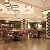 Cafe Interior 07 V1