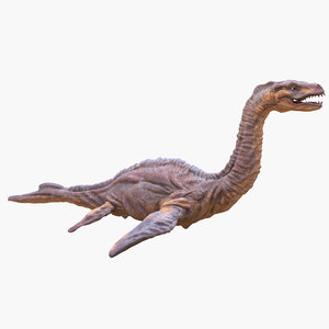 loch ness monster 3d model