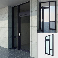 High quality model of door #1: French patio sinigle door