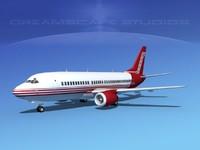 3d boeing 737 737-300 1
