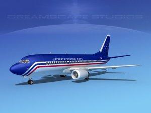 boeing 737 737-300 3ds