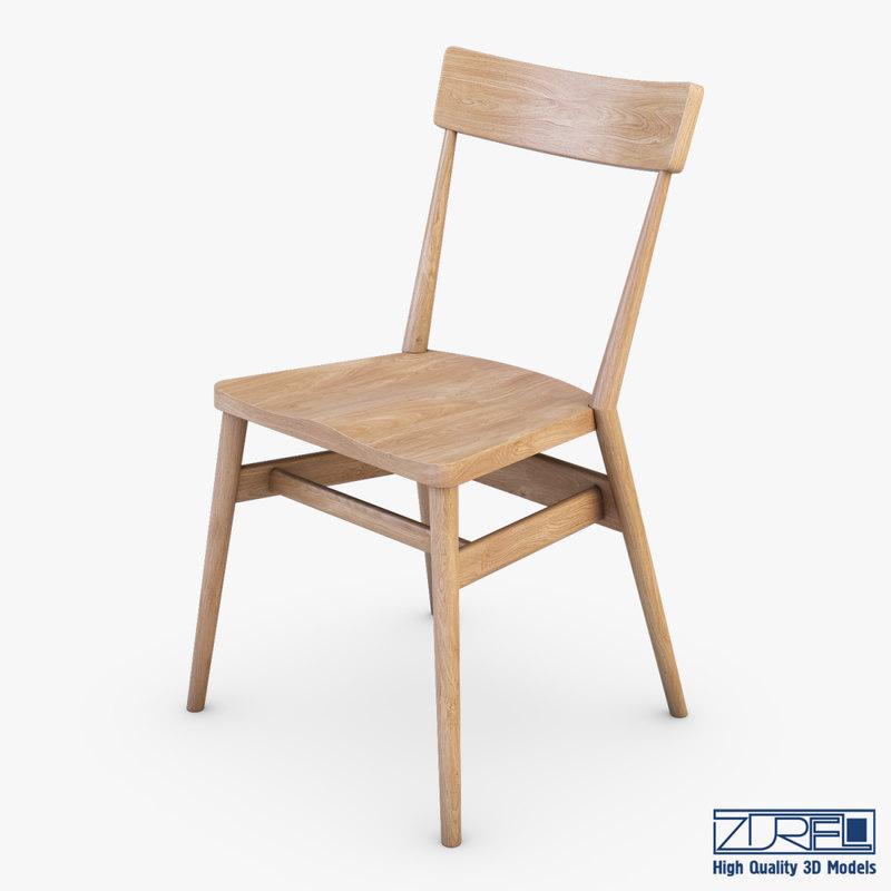 ercol holland park chair 3d max