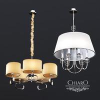 chairo palermo chandeliers 3d model