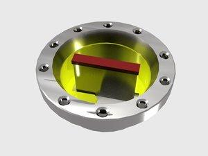 valve subsea 3d max