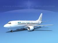 3d boeing 737 737-300 model