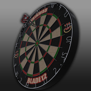 x dart board