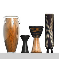 african tamtams 3d max