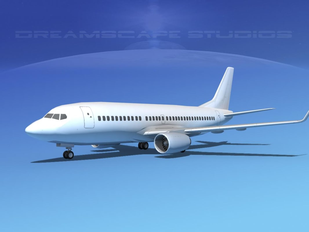 boeing 737-300 3d model