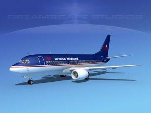 boeing 737 737-300 3d model