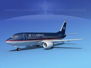 3d model boeing 737 737-300