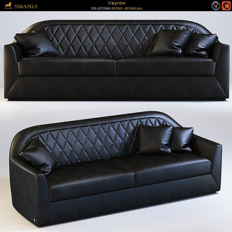 3d smania sofa model