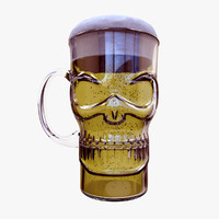 c4d mug glass beer