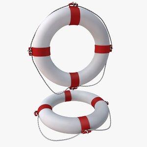 rescue buoy dxf