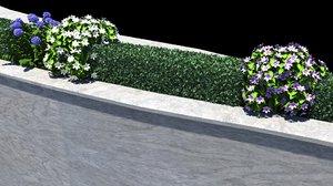 plant bush 3d model