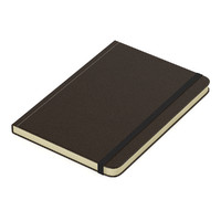 3d model of notebook brown leather