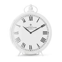 white clock 3d c4d