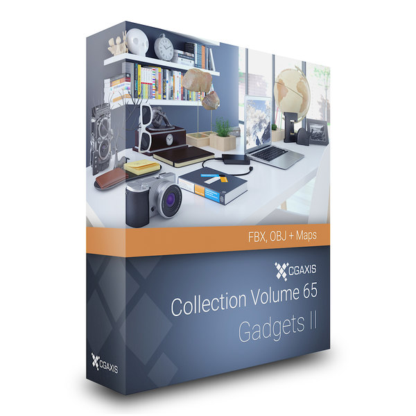 3d volume 65 - gadgets