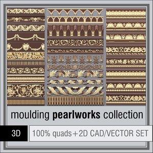 3d model 1d pearlworks moulding