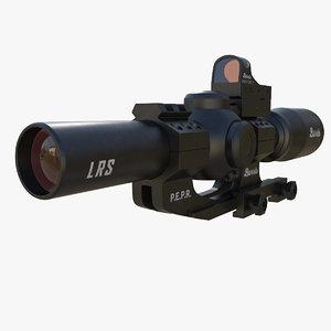 optical scope fullfield 3d model