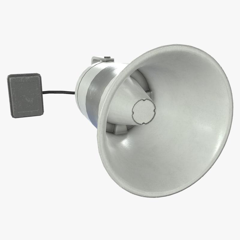 loudspeaker asset polys max