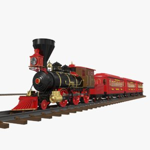 3ds toy train