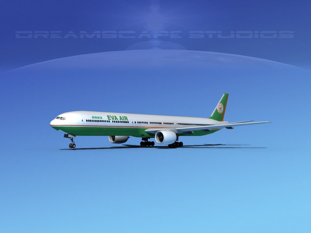boeing 777-300 3d dxf