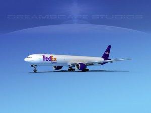 boeing 777-300 3d dwg